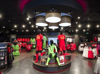 Sports Store, Complete Installation